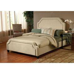 Hillsdale Carlyle Bed Set (Queen - Buckwheat), Beige