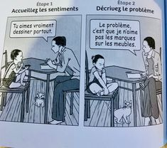 La résolution de problème : 5 étapes pour responsabiliser les enfants en évitant punitions, menaces, cris,... Education Positive, Positivity, Memes, Kids, School, The Emotions, Brain Parts, Reading, Children