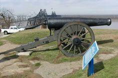 24 pounder Coastal Siege Gun, Vicksburg National Battlefield, Mississippi