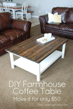 This post contains affiliate links. I love, love, LOVE the farmhouse look. We don't really live on a farm, but we pretend to, so I love using rustic, charming pieces of furniture i…