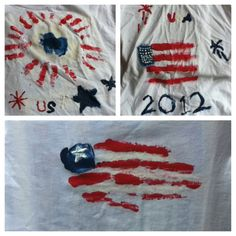 Patriotic t-shirts for the Fourth of July!