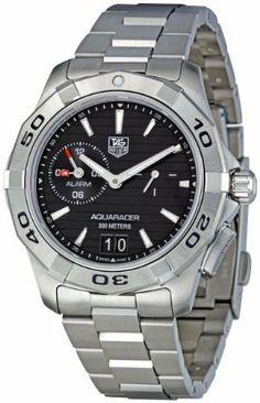 TAG Heuer Men's WAP111Z.BA0831 Aquaracer Black Dial Watch by TAG Heuer @ TAG-Heuer-Watches .com