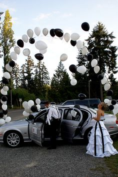 Getaway Car - Wedding Photo Ideas | Wedding Planning, Ideas & Etiquette | Bridal Guide Magazine