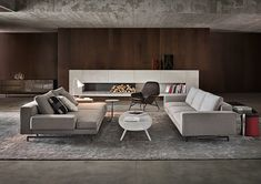 Minotti Ipad - SOFAS - EN | SHERMAN. Sofas good and the arrangement too.