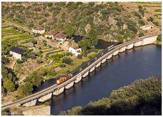https://flic.kr/p/qwdUDS | Ferradosa 14-09-14 | Locomotivas Diesel nº1427/1415, comboio nº960, Pocinho -> Porto Campanhã