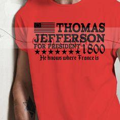 HAMILTON INSPIRED Jefferson for President Digital