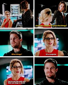 Oliver, Felicity and Thea Arrow Tv Shows, Arrow Tv Series, Dc Tv Shows, Cw Series, Supergirl Dc, Supergirl And Flash, The Flash, Oliver And Felicity, Felicity Smoak