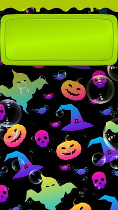 Happy Halloween Quotes, Happy Halloween Pictures, Halloween Images, Cute Halloween, Halloween Stuff, Halloween Ideas, Iphone Wallpaper Fall, Holiday Wallpaper, Cellphone Wallpaper