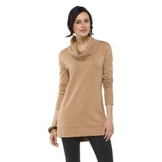 Women's Cowl Tunic Top - Merona