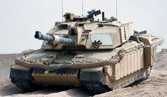 Challenger-2 crosses into Iraq 21/03/2003