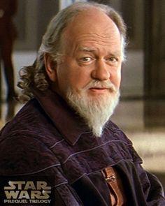 Gobernador Sio Bibble / Oliver Ford Davies / Star Wars SW Cromos / La amenaza fantasma / Prequels