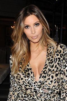 Kim Kardashian Blonde Ombre Balayage Clip In Hair by StudioShe