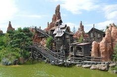 Disneyland Paris. Big Thunder Mountain in Frontierland