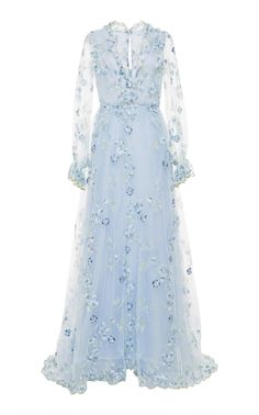 light blue party dress long sleeve evening dress tulle applique long prom dress v neck formal dress sold by shuiruyandresses. Shop more products from shuiruyandresses on Storenvy, the home of independent small businesses all over the world. Long Sleeve Evening Dresses, Prom Dresses Long With Sleeves, Dresses Short, Prom Dresses With Sleeves, Tulle Prom Dress, Formal Dresses, Dress Long, Blue Dresses, Pretty Dresses