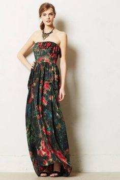 Anthropologie Multicolor Acadiana Maxi Dress