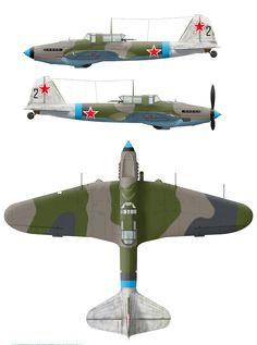 ИЛ-2M3.198 ШАД пилот-А.Н.Ефимов и техник лейтенант С.М.Репин.Магдебург 21 марта 1945 года