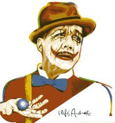 Adoniran Barbosa (1910-1982) no traço de Elifas Andreato. Veja também: http://semioticas1.blogspot.com.br/2012/06/tiro-ao-alvaro.html