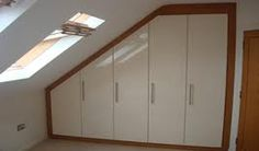 built in wardrobes images with sloping ceilings - Google Search