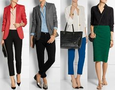 Building Your Business Casual Wardrobe | Lauren Messiah | Bloglovin'