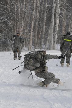 1st Stryker Brigade Combat Team, 25th Infantry Division, conducted Operation Arctic Forge II, a competitive physical training and unit morale event which took place on the civilian side of the Birch Hill Recreation Area, March 21. This operation tested and trained Soldiers in basic Arctic warrior tasks, as well their physical endurance. Events included a snow shoe march, Biathlon shoot, cross country ski and Ahkio sled pull.