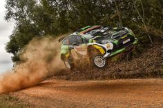 Ford Fiesta RRC - 2015 Rally Australia - Yazeed Al-Rajhi and Michael Orr
