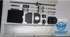 Industrial aluminium profile for linear guide-way from Hiwant industry.