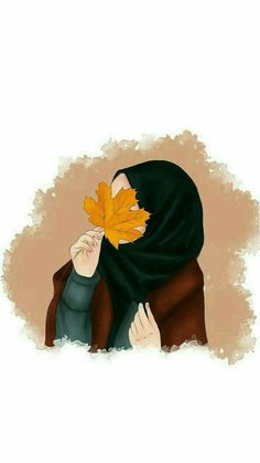 actual scarf is a vital item while in the clothes of girls by using hijab. Cute Cartoon Wallpapers, Cute Wallpaper Backgrounds, Cartoon Pics, Cute Heart Drawings, Illustrations, Illustration Art, Cover Wattpad, Hijab Drawing, Islamic Cartoon