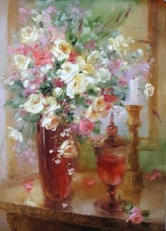 Анна Хомчик 1976 | Ukrainian Still life painter | The sweet moments  (Anna Homchik)