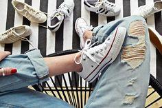 #lifehack   8 Tipps, wie man Schuhe & Sneakers wieder strahlend weiß bekommt   luzia pimpinella   Bloglovin'