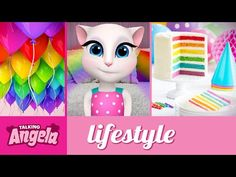 Talking Angela - It's my party! - YouTube