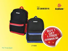 22-28 Aug 2016: The Travel Store New Opening Special Promotion