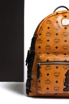 c3b3584f5b MCM Backpack  Fashion  Streetwear  Style  Urban  Lookbook  Photography   Luxury  Leather  Modern  Creation  Munich  Stark  Studded