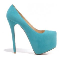 Light Blue High Heels at TradeTang.com