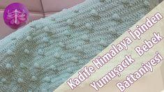 Velvet Himalaya Rope Drops Soft Baby Blankets Made / Needle (In HD) Soft Baby Blankets, Crochet Videos, Chrochet, Outdoor Blanket, Velvet, Knitting, Youtube, Crochet, Crocheting