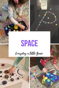 Tot School / Weeks 47 & 48: Space 🚀