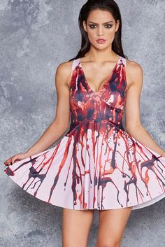 Black Milk - Bloody Prom Queen Marilyn Dress - LIMITED