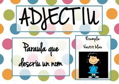 Adjectiu cartell. Hi ha molts altres de la mateixa autora
