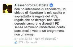 Solo pditto posto farà questa cosa no #M5S noi rispettiamo le regole sarà un rialta un sindaco a 5 stelle #Roma.
