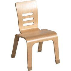 "12"" Bentwood Chairs, Set of 2, Natural: Kids' & Teen Rooms : Walmart.com"