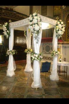The Perfect Chuppah Flowers Jewish Wedding