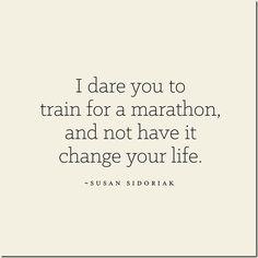 Marathon Gratitude via @Rachel Steffen   I dare you to train for a marathon and not have it change your life!