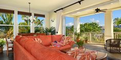 Villas at Poipu Kai  ( Koloa, Hawaii ) #Jetsetter  Private lanais and up to four bedrooms make villas ideal for families and groups of friends.