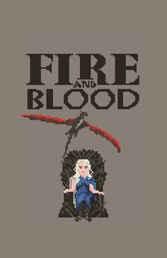 Daenerys Targaryen for the iron throne! 8-bit  http://gameofthrones.tumblr.com/post/51340268756/daenerys-targaryen-for-the-iron-throne