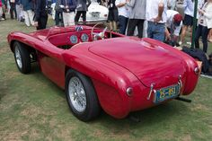 Ferrari 225 Export Vignale Spyder (Chassis 0216ED - 2014 Pebble Beach Concours d'Elegance) High Resolution Image