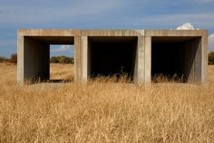 Donald Judd...installations