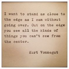 Kurt Vonnegut Framed Quote Made On Typewriter via Etsy