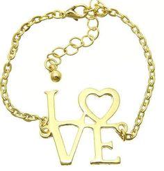 P.S. I Love You More Boutique | Gold Dainty Love Bracelet | www.psiloveyoumoreboutique.com