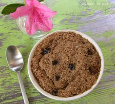 2-Minute Healthy Sugar-Free Bran Muffin in a Mug | power hungry  Made this morning and is delicious!