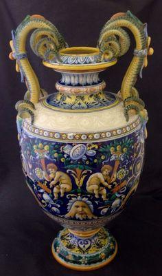 Cantagalli urn circa 1880