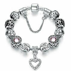 """Elsa"" Bracelet - Silver"